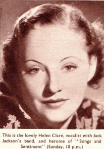 Helen Clare singing Star of the 1930s 1940s & 1950s  BBC